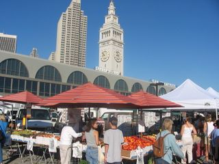 Farmers market -city view