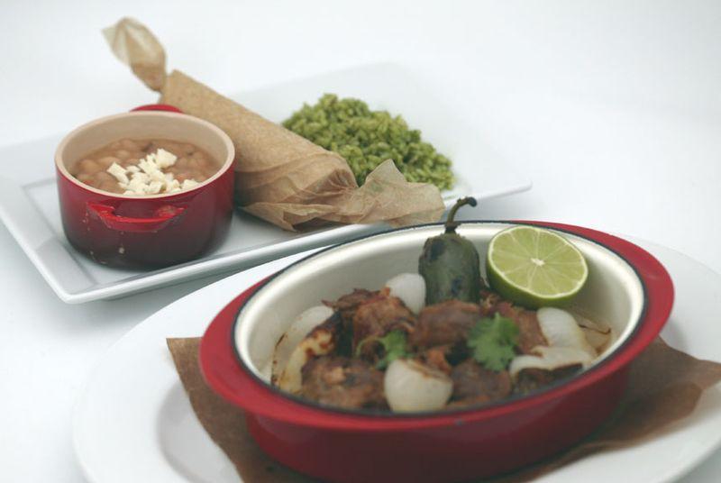 Camelbacks Best Pork Carnitas with Tortillas