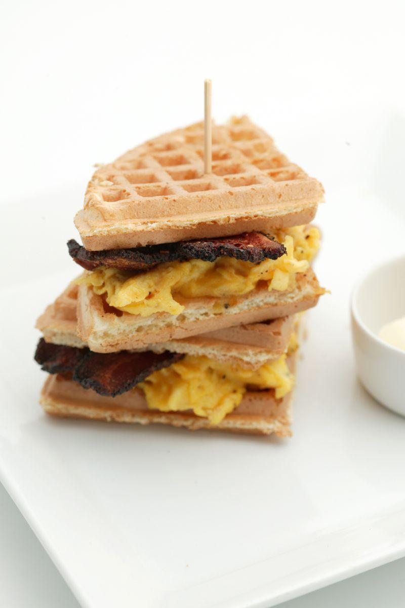 Waffle sandwich 1