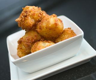 Blue cheese tater tots