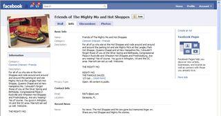 Hot shoppes facebook