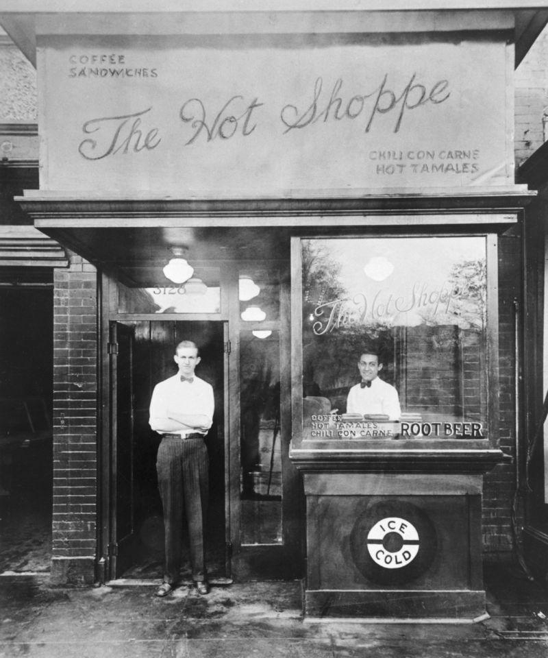 Hot shoppe history
