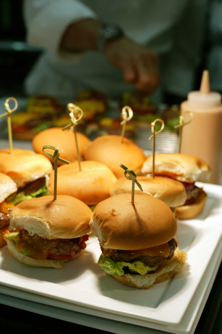 Marriott Burger Sliders